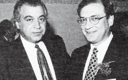 Sam Hassan and Jerry Cohn in 1994
