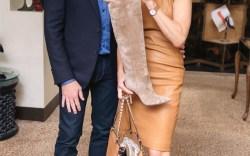 Gianvito  Rossi and Linda Fargo