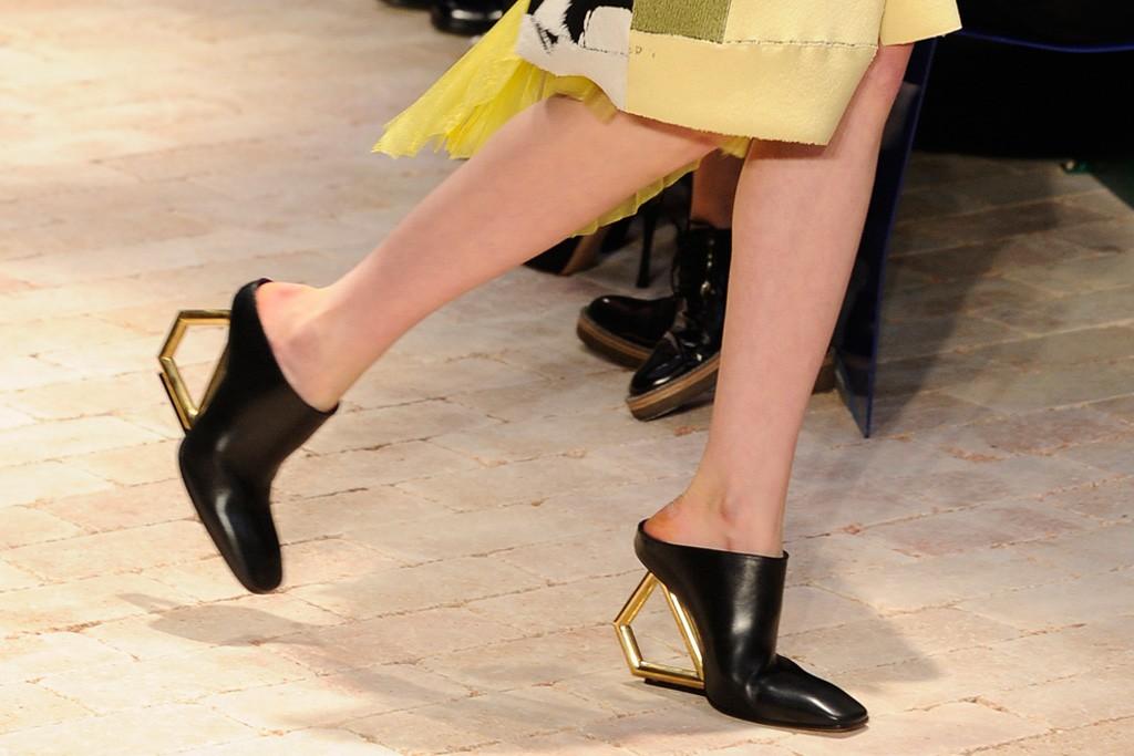 Céline spring 2014 architectural heels