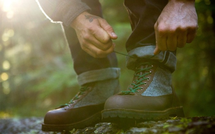 An Old Growth boot by Danner and Woolrich