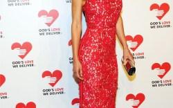 Hilary Swank wearing Michael Kors at Gods Love We Deliver 2013 Golden Heart Awards Celebration Getty Images