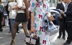 Milan Fashion Week street style 2013 WWD