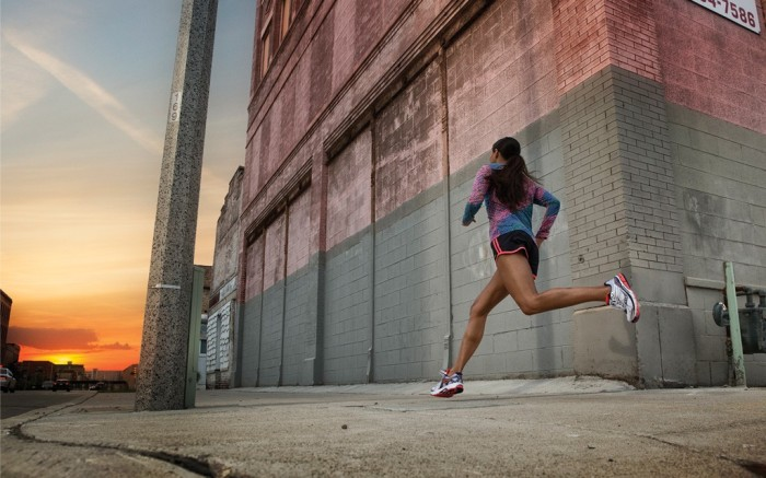 A lifestyle image from Saucony&#8217s new campaign