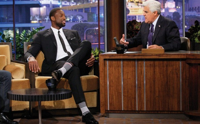 Dwyane Wade sported Stance socks last month on &#8220The Tonight Show with Jay Leno&#8221