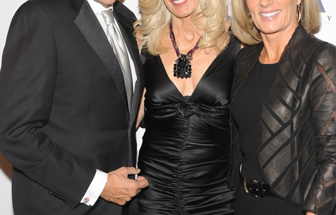 Sam and Libby Edelman with Diane Sullivan  Steve Eichner