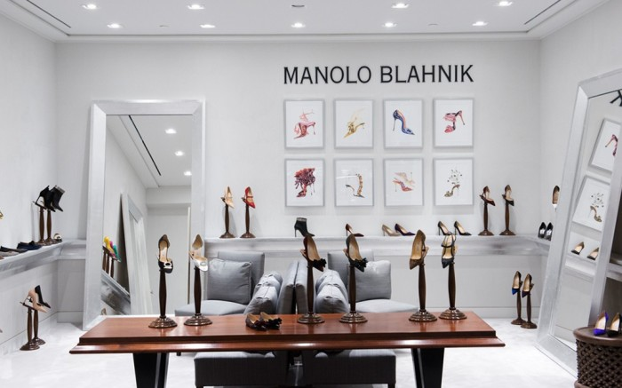 The new Manolo Blahnik concept shop at Holt Renfrew Yorkdale