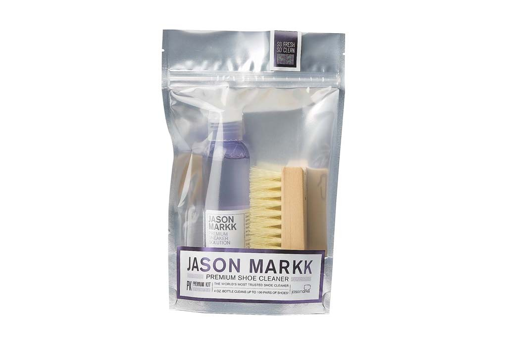 A Jason Markk cleaning kit.