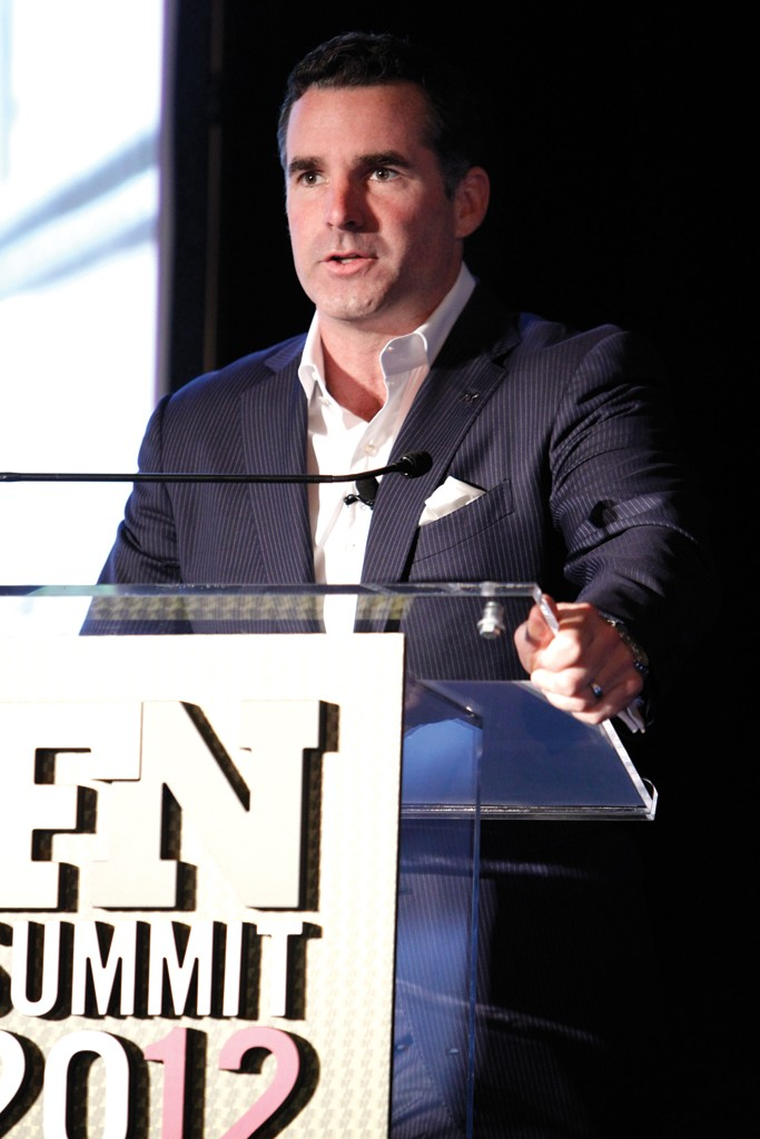 Under Armour founder and CEO Kevin Plank, winner of the 2014 Person of the Year award at the FN Achievement Awards.