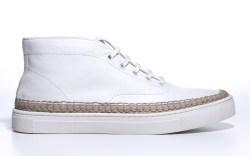 Alexander Wang white leather sneaker