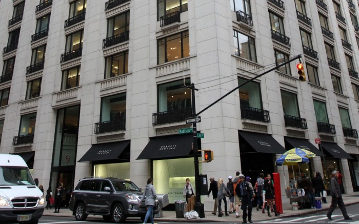 Barneys New York Madison Ave store