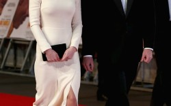 The Duke and Duchess of Cambridge arrive at the Royal Film Performance of Mandela Long Walk to Freedom in London Thursday night