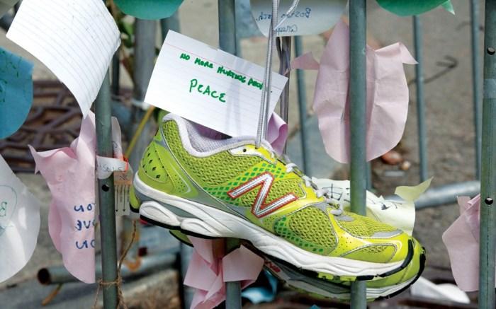 Boston New Balance Bostn Marathon Bombings