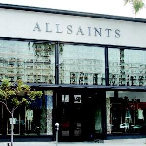 AllSaints in Beverly Hills Calif