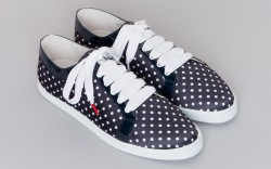 A Boubou plimsoll sneaker from the spring 14 collection courtesy of Twins for Peace