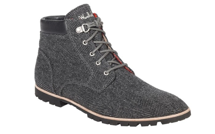 Woolrich tweed boot leather collar Ankles Away Outdoor Trend