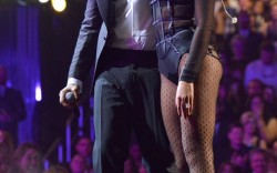 Jay Z in Tom Ford laceups with Beyonce in Stuart Weitzman heels