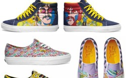 The Beatles capsule collection is a first for Vans