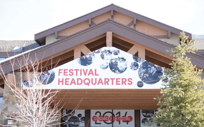 Sundance Film Festival Park City Utah