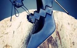 The Izar ankle-strap pump by Canadas Abel Mu&#241oz Fall 14