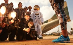 The Speedform Apollo shoes are the star of this commercial set to air Feb 22 on the NFL Network