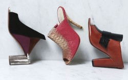 Mule color-blocked moderne Edmundo Castillo Coye Nokes French Conenction