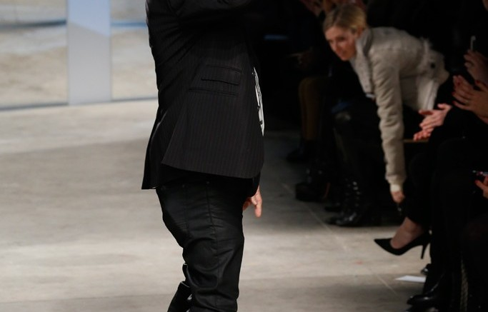 Kenneth Cole at his runway show this week