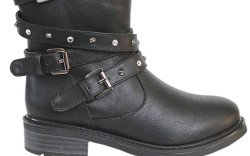FLOWERS BY ZOE&#8217s mid-cut boot with studded buckles