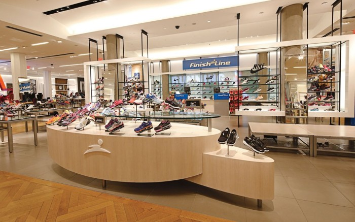 Finish Line shop Macys