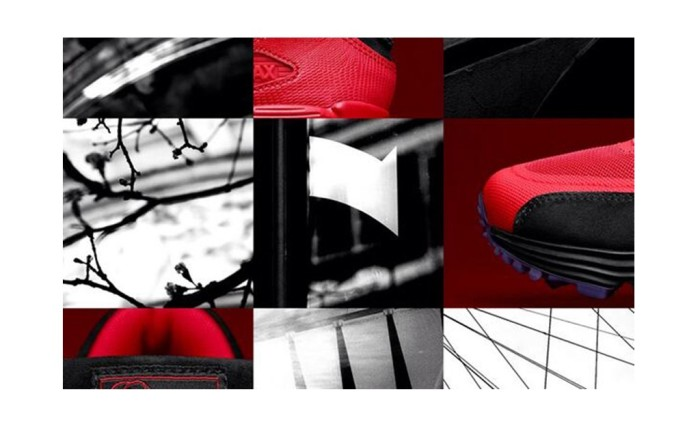 Picture clues dropped by Jessie J in a London scavenger hunt for customized Nike Air Max shoes