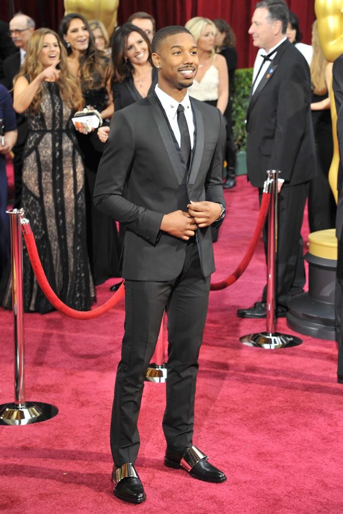 Michael B. Jordan in Givenchy.