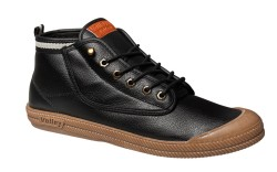 A leather hi-leap style from Volleys fall 14 line gets a contrasting sole