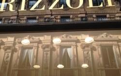 Reading up at Rizzoli