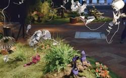 A surreal setup at the fall &#821714 presentation