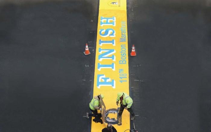 Boston Marathon 2014 Boylston Street