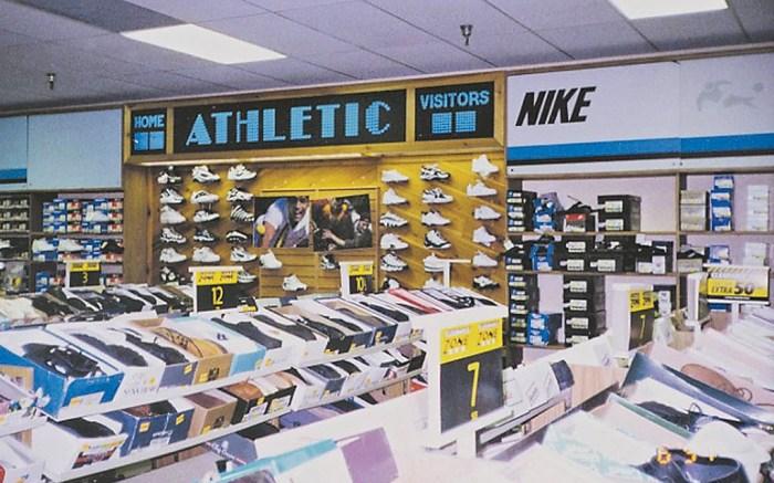 Famous Footwear in the 1980s