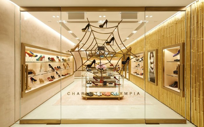 Charlotte Olympia store in Hong Kong
