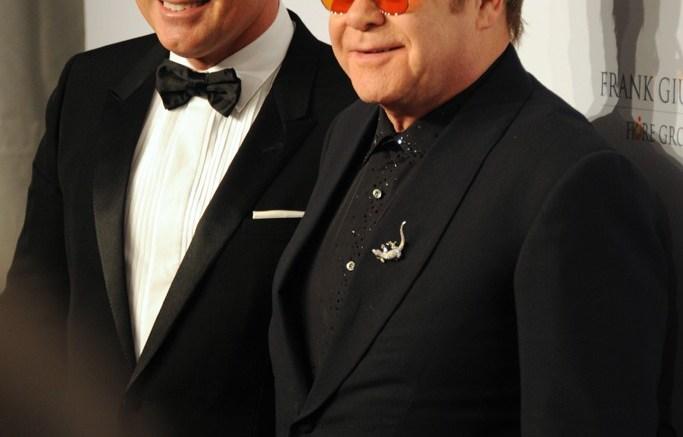 Elton John Elton John Aids Foundation Benefit Cipriani Wall Street NYC New York 2013