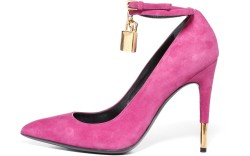 Tom Ford&#8217s calcedony pink padlock pump