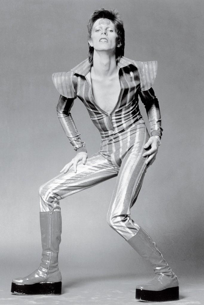 David Bowie as Ziggy Stardust.