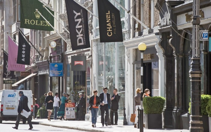 Old Bond Street London FN Footwear News