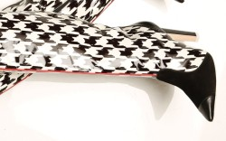 Sophia Webster&#8217s houndstooth leather and PVC boots