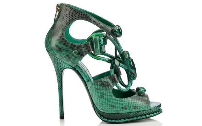 The emerald style from Jimmy Choo&#8217s Vices Collection