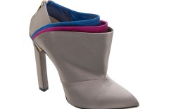 Jimmy Choos satin back-zip bootie