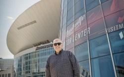 FN Footwear News Jim Estepa Nashville Bridgestone Arena