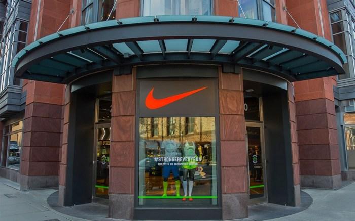Inside Nike in Boston