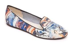 CHARLES PHILLIP SHANGHAI&#8217s canvas smoking slipper