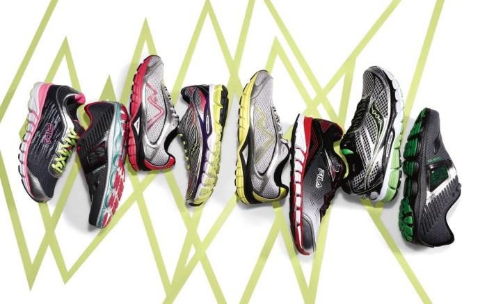 FN Footwear News Fila Brooks Saucony Karhu