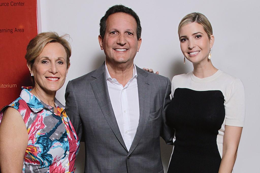 Susan Itzkowitz, Marc Fisher and Ivanka Trump