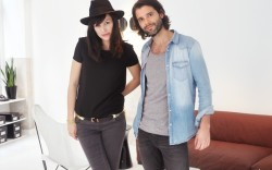 Designers Kevin Serpaggi and Camille Hourdeaux
