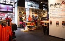 The Reebok store in Union Square